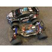Traxxas Rally 1/10 NOS Brushless onroad compleet met lipo accu!