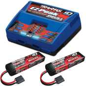 Traxxas Combo Pack 2X 2872X 11.1V LiPo & 1X 2972G duo charger - TRX2990G