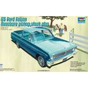 Trumpeter 1965 Ford Falcon Ranchero Pickup Stock plus - 1:25 - 02511