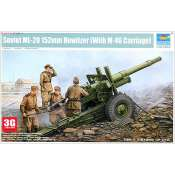 Trumpeter Bouwpakket Soviet ML-20 152mm howitzer (with M-46 Carriage) 1:35