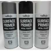 Vallejo Surface Primer Black - 400ml - 28012