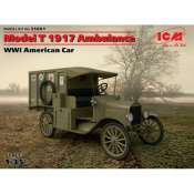 WWI American Car Model T 1917 Ambulance 1:35 - 35661