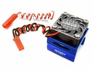 Integy Super Brushless Motor Heatsink+Cooling Fan 1/16 Traxxas ERevo, Slash, Summit, Rally