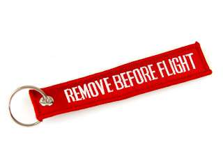 Remove before flight label