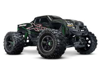 Traxxas X-Maxx 8S Limited Edition Green Brushless Monster truck RTR