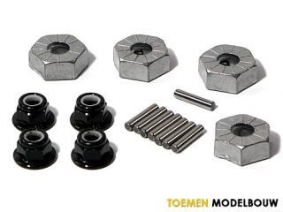 HPI HEX WHEEL HUB 14mm 4pcs - HPI86066
