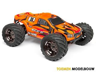 HPI Bullet ST Clear body with Nitro Flux Decal sheets -  HPI107229