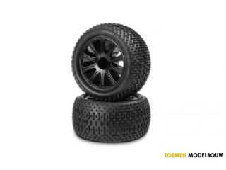 Jconcepts Tires & Wheels Goose Bumps E-Revo 1/16