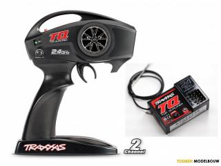 Traxxas Transmitter TQ 2.4GHz 2-channel & Receiver 3-channel - TRX6516