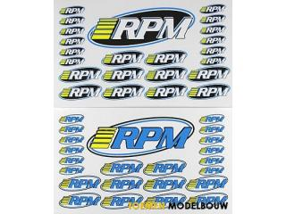 RPM Universeel Pro decal sheet - RPM70005