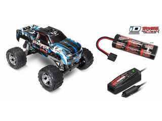 Traxxas Stampede XL5 2WD Monster Truck RTR 2.4Ghz Blauw - inclusief Power Pack