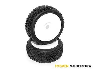HPI HB PROTO Mounted Tire 2pcs - HOT67620