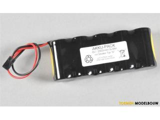 FG FG receiver battery NiMH 6V 2000mAh 1pce - G-06546-01