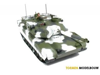 Hobby Engine M1A1 Abrams Battle Tank - Winter