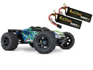 Traxxas E-Revo 2 Brushless Monster Truck RTR TSM 2.4Ghz - inclusief Power Pack