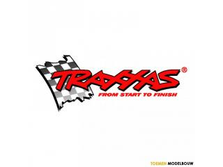 Traxxas Tail boom support set black - TRX6349