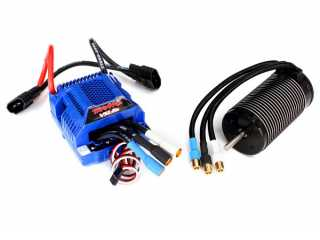 Traxxas Velineon VXL-6s Brushless Power System waterproof (includes VXL- 6s ESC and 2200Kv, 75mm motor) - TRX3480