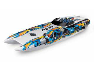Traxxas DCB M41 Widebody Brusless Boat RTR TSM 2.4Ghz - zonder batterij en lader