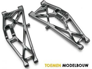 Traxxas Exo-Carbon - Rear Suspension Arms - Left and Right - TRX5533G