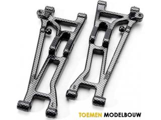 Traxxas Exo-Carbon - Front Suspension Arms - Left and Right - TRX5531G