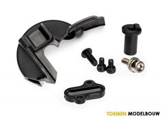 Traxxas Cover gear & motor mount hinge post - TRX7077R