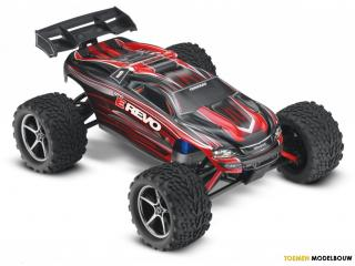 Traxxas E-Revo 1:16 brushed monster truck RTR - TQ 2.4Ghz