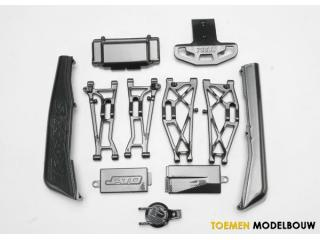 Traxxas Exo-Carbon Finish Kit - TRX5522G