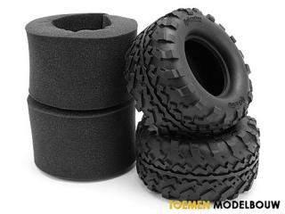 HPI GT2 TIRES S COMPOUND - HPI4462