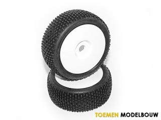 HPI HB KHAOS Mounted Tire - HOT67605