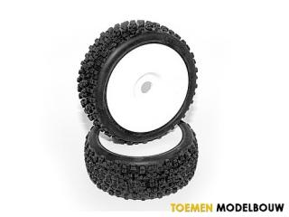 HPI HB PROTO Mounted Tire - HOT67621