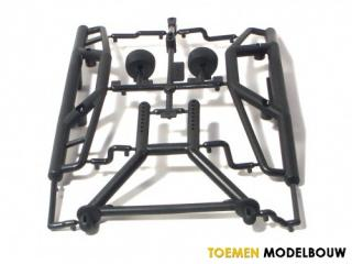 HPI BUMPER SET & LONG BODY MOUNT SET - HPI85059