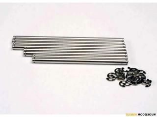 Traxxas Suspension pin set stainless steel - TRX4939X