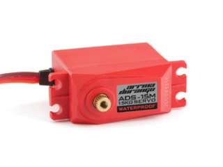ADS-15M V2 15KG WATERPROOF SERVO (RED) - AR390139