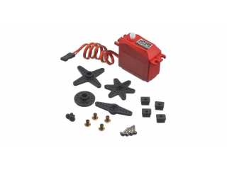 ARRMA ADS-5 V2 4.5kg Waterproof Servo, Red - ARAM1011