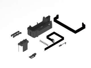 ARRMA BATTERY TRAY SET - AR320351