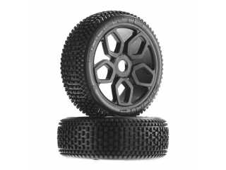ARRMA Exabyte NB Buggy Tire Set Pre-glued - ARAC9439/AR550027