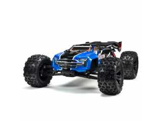 ARRMA Kraton 6S BLX 1/8 brushless speed monster truck 4WD Blauw - Model 2020