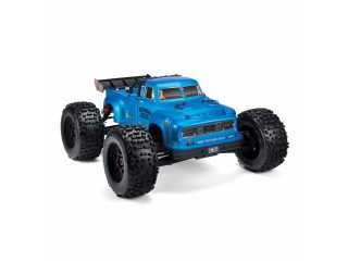 ARRMA Notorious 6S BLX 1/8 brushless classic stunt truck 4WD Blauw - Model 2020