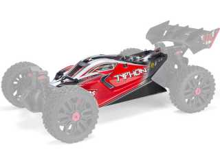 ARRMA Typhon 4x4 Blx Painted Decaled Trimmed Body Red - ARA402274