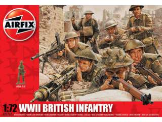 Airfix WWII British Infantry Northern Europe in 1:72 bouwpakket