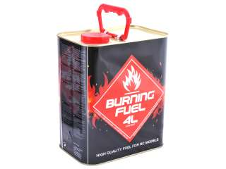 Burning Fuel nitro off-road brandstof 16% 4 Liter
