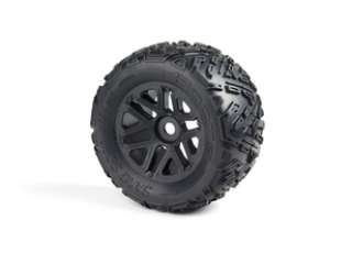 DBOOTS SAND SCORPION MT 6S TIRE SET GLUED BLACK 2PCS - AR550010