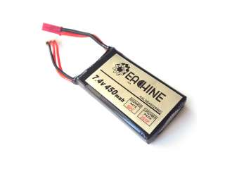 Eachine Aurora 90 100 Mini FPV Racer Spare Part 2S 7.4V 450mAh 80C Lipo Battery - A908