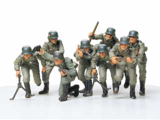 Tamiya GERMAN ASSAULT TROOPS KIT - 1:35 bouwpakket