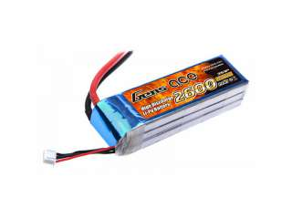 Gens ace 2600mAh 11.1V 25C 3S1P Lipo Battery Pack