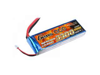 Gens ace 3300mAh 7.4V 25C 2S1P Lipo Battery Pack