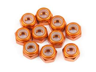 HPI ALUMINUM THIN LOCK NUT M3 10pcs - HPI104120
