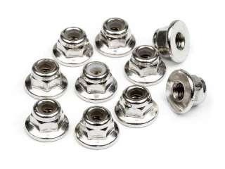 HPI FLANGED LOCK NUT M3 10pcs - HPI103671