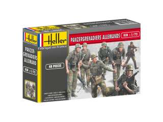 Heller Panzergrenadiers Allemands in 1:72 bouwpakket