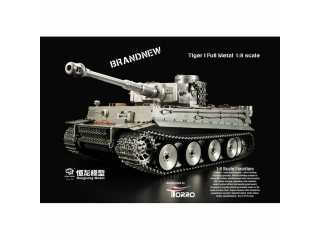Heng Long 1/8 RC Tank Tiger I Full Metal Version Tank BB